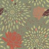 starbursts картины цветка безшовные Стоковые Фото
