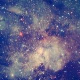 Starbust вне в ноче Стоковые Фото