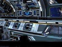 Starcarrier all'interno Immagini Stock