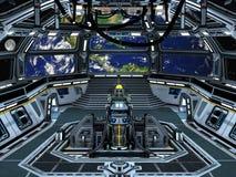 Starcarrier all'interno Fotografia Stock