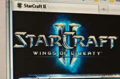 Starcraft 2 photo libre de droits