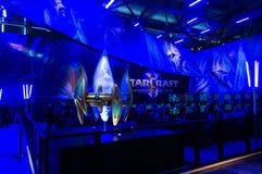StarCraft 2 bås arkivfoton