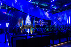 StarCraft 2 booth Stock Photos