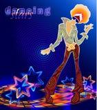 Stardance Imágenes de archivo libres de regalías