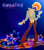 Stardance Immagini Stock Libere da Diritti
