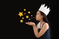 Дуя stardust Стоковая Фотография