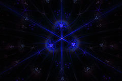 Stardust abstrato no fundo escuro ilustração royalty free