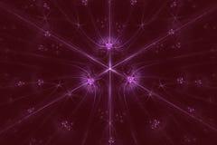 Stardust abstrato no fundo escuro ilustração stock