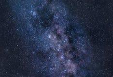 Stardust der Milchstraße Stockbild
