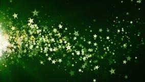 Stardust som driver gräsplan royaltyfri illustrationer
