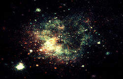 Stardust Royalty Free Stock Photography