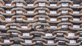 Stare łańcuszkowe tekstury Zdjęcie Royalty Free