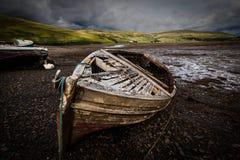Stare łodzie zdjęcia royalty free