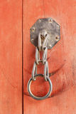 Stare żelazne kędziorek bramy - rocznika styl. Zdjęcia Stock