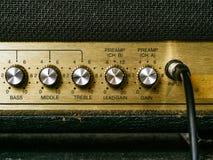 Stare amplifikator gałeczki obrazy royalty free