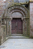 Stare bramy kościół Obraz Stock