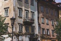 Stare budowy Ljubljiana Obrazy Royalty Free