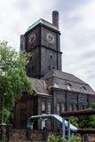 Stare budynek elektrownie Zdjęcia Royalty Free