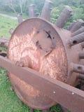 Stare ciężki metal struktury, korodowanie żelazo obraz royalty free