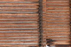 Stare cięcie bele Tekstury drewno Obrazy Royalty Free