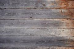 Stare ciemne drewniane grunge deski Obrazy Stock