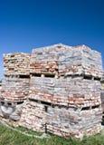 Stare czerwone cegły Zdjęcia Stock