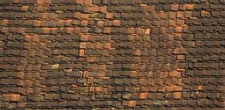stare dachowe płytki Zdjęcie Stock