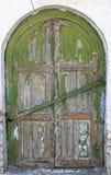 Stare drewniane żaluzje na okno Zdjęcie Royalty Free