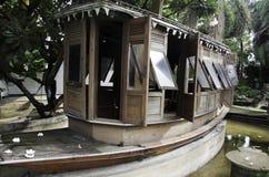 Stare drewniane łodzie. Zdjęcia Royalty Free
