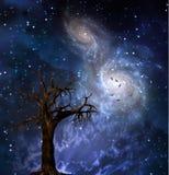 stare drzewo royalty ilustracja
