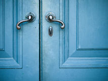 stare drzwiowe rękojeści Zdjęcie Stock