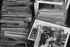 Stare fotografie i rocznik pocztówki Obrazy Stock