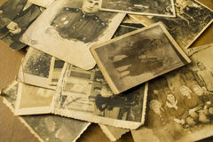 Stare fotografie od wojny Obraz Stock