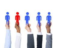 Stare fuori il responsabile Collaboration Concept di direzione Immagini Stock Libere da Diritti