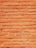 Stare góry Kołysają tło, ściana z cegieł tekstury odgórny widok Zdjęcia Royalty Free