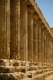 Stare greckie kolumny Fotografia Royalty Free