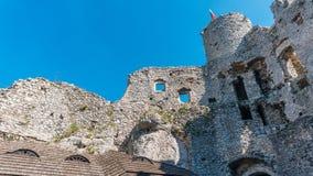 Stare grodowe ruiny Ogrodzieniec Obrazy Royalty Free