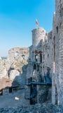 Stare grodowe ruiny Ogrodzieniec Zdjęcie Stock