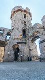 Stare grodowe ruiny Ogrodzieniec Fotografia Stock