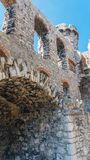 Stare grodowe ruiny Ogrodzieniec Zdjęcia Royalty Free
