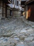 Stare Grodzkie Nessebar Urocze ulicy Pionowo Obrazy Royalty Free