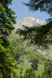 Stare halne budy przy Kackar górami zdjęcia royalty free