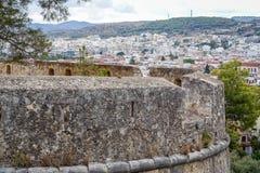 Stare, historycznie warowne ściany miasto, obrazy royalty free