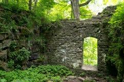 Stare Kamienne drzwi ruiny obraz royalty free