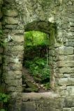Stare Kamienne drzwi ruiny obraz stock