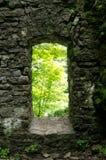 Stare Kamienne drzwi ruiny obrazy royalty free