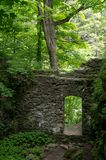 Stare Kamienne drzwi ruiny obrazy stock