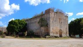 Stare kościelne ruiny, Meksyk zdjęcie royalty free