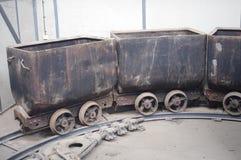 Stare kopalni wydajności fury Zdjęcia Stock