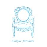 stare krzesło Zdjęcia Royalty Free